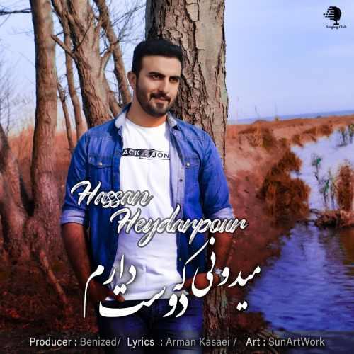 دانلود اهنگ جدید حسن حیدرپور میدونی که دوست دارم